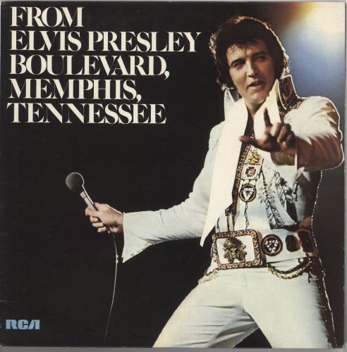 Elvis Presley From Elvis Presley Boulevard, Memphis, Tennessee vinyl LP album (LP record) UK ELVLPFR210060