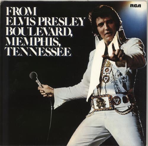 Elvis Presley From Elvis Presley Boulevard, Memphis, Tennessee vinyl LP album (LP record) UK ELVLPFR279296