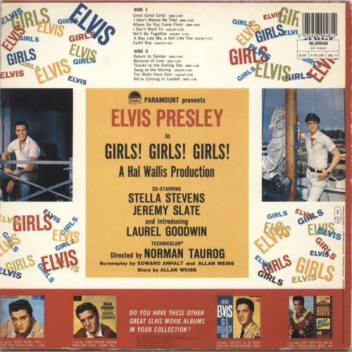 Elvis Presley Girls! Girls! Girls! vinyl LP album (LP record) German ELVLPGI737449