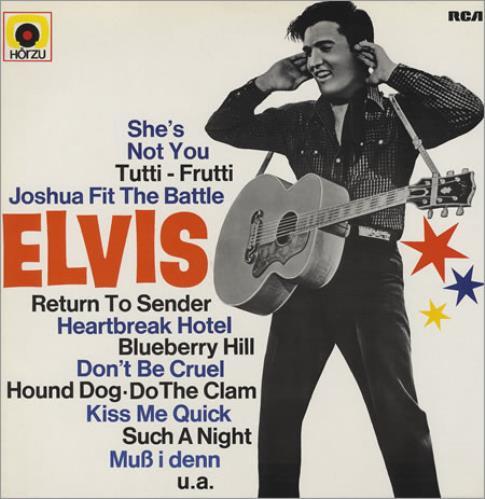Elvis Presley Golden Boy vinyl LP album (LP record) German ELVLPGO375055