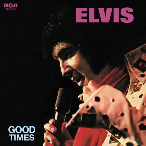 Elvis Presley Good Times - Transparent Blue Vinyl - Sealed vinyl LP album (LP record) UK ELVLPGO766261