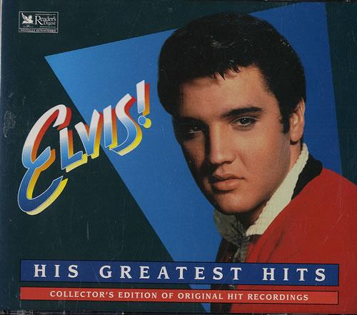 Elvis Presley His Greatest Hits Us 4 Cd Album Set 479634