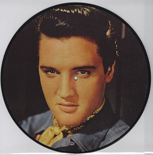 Elvis Presley Hot Dog - Calendar insert picture disc LP (vinyl picture disc album) Danish ELVPDHO293610