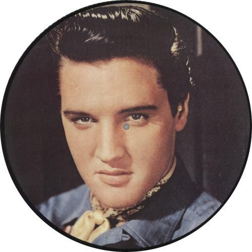 Elvis Presley Hot Dog picture disc LP (vinyl picture disc album) Danish ELVPDHO719386