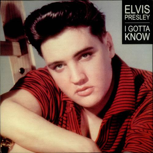 """Elvis Presley I Gotta Know - Red vinyl 10"""" vinyl single (10"""" record) UK ELV10IG546948"""