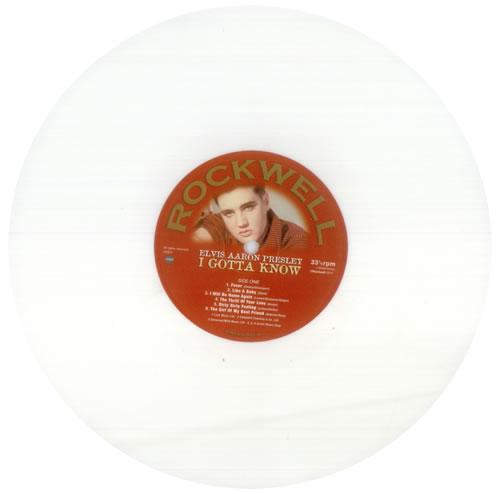 """Elvis Presley I Gotta Know - White vinyl 10"""" vinyl single (10"""" record) UK ELV10IG546949"""