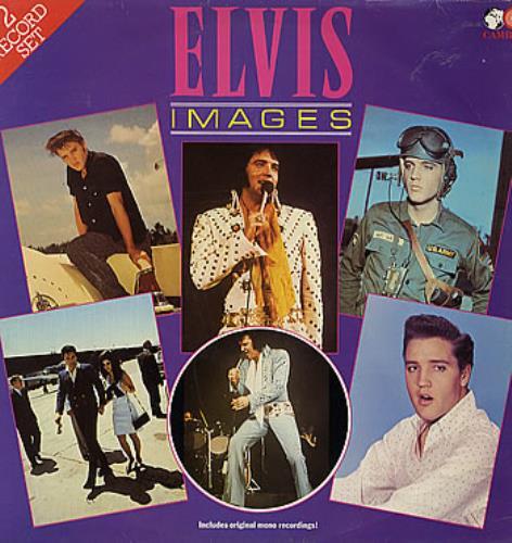 Elvis Presley Images 2-LP vinyl record set (Double Album) UK ELV2LIM293955