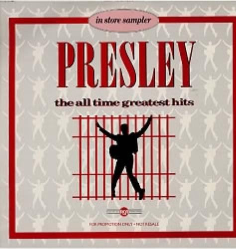 Elvis Presley In Store Sampler vinyl LP album (LP record) UK ELVLPIN38736