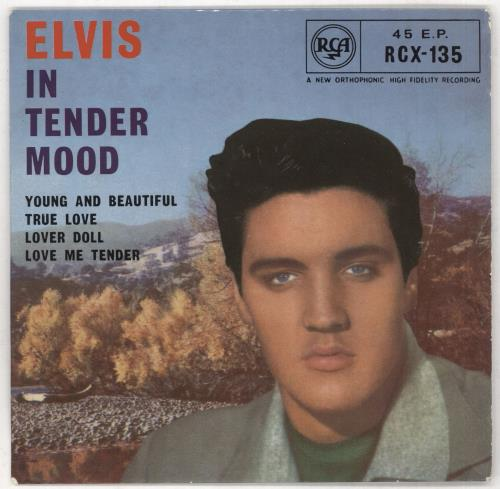 "Elvis Presley In Tender Mood - 1st - VG 7"" vinyl single (7 inch record) UK ELV07IN739200"