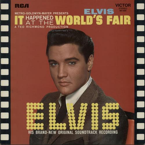 Elvis Presley It Happened At The World's Fair vinyl LP album (LP record) French ELVLPIT639254