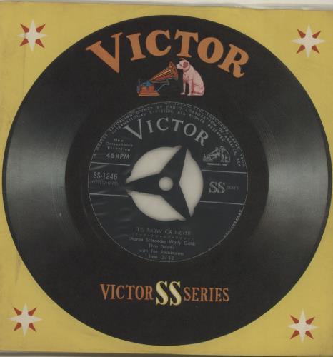"Elvis Presley It's Now Or Never 7"" vinyl single (7 inch record) Japanese ELV07IT291645"