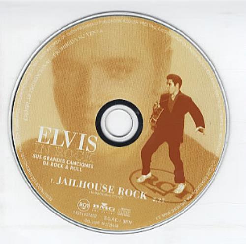 "Elvis Presley Jailhouse Rock CD single (CD5 / 5"") Spanish ELVC5JA126214"