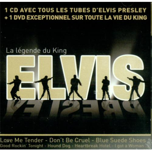 Elvis Presley La Legende Du King 2-disc CD/DVD set French ELV2DLA421750
