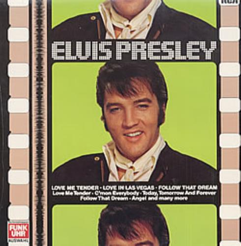 Elvis Presley Love Me Tender/Love In Las Vegas/Follow That vinyl LP album (LP record) German ELVLPLO210059