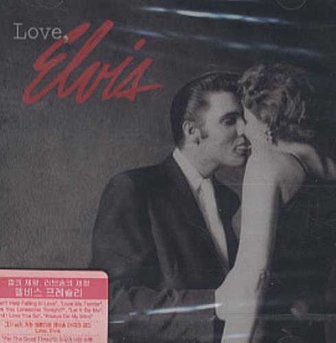 Elvis Presley Love, Elvis CD album (CDLP) Korean ELVCDLO322260