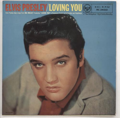 "Elvis Presley Loving You - 4th 10"" vinyl single (10"" record) UK ELV10LO733082"