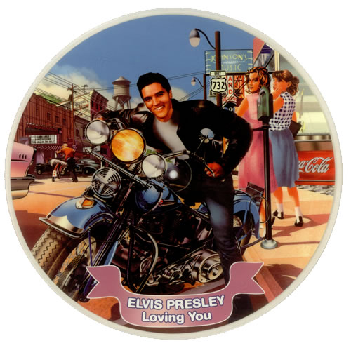 Elvis Presley Loving You Uk Picture Disc Lp Vinyl Picture