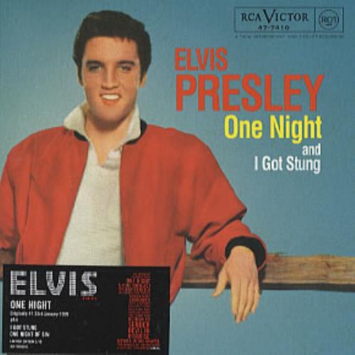 "Elvis Presley One Night [Numbered] CD single (CD5 / 5"") UK ELVC5ON314262"