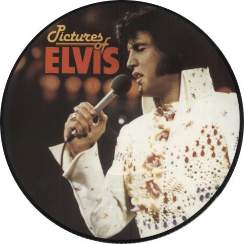Elvis Presley Pictures Of Elvis I & II picture disc LP (vinyl picture disc album) Danish ELVPDPI705518