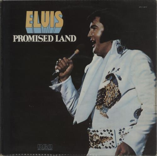 Elvis Presley Promised Land vinyl LP album (LP record) UK ELVLPPR136318