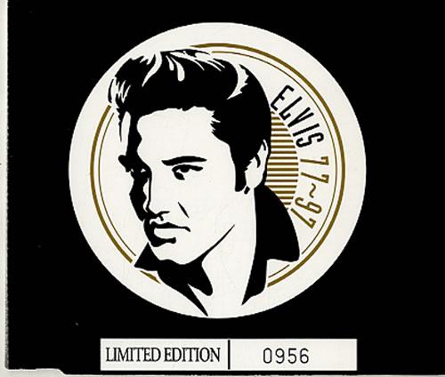 Elvis Presley Rags To Riches Fan Club Uk Promo Cd Single Cd5 5