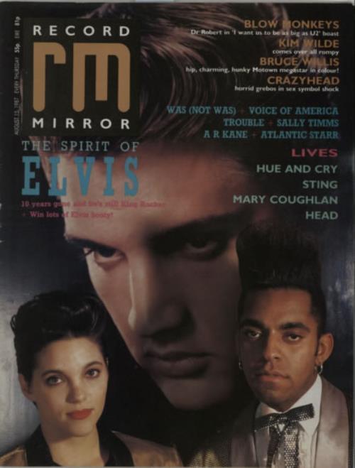 Elvis Presley Record Mirror magazine UK ELVMARE608051