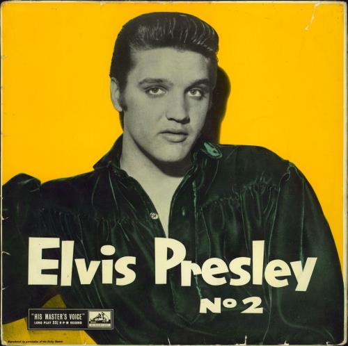 Elvis Presley Rock 'n' Roll No. 2 - Wrecked But Rare vinyl LP album (LP record) UK ELVLPRO613200