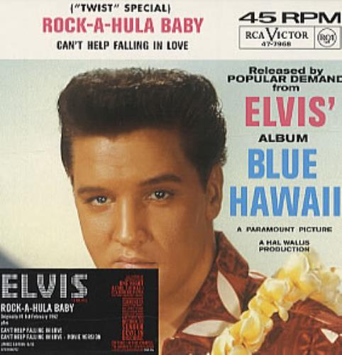"Elvis Presley Rock-A-Hula Baby [numbered] CD single (CD5 / 5"") UK ELVC5RO319305"