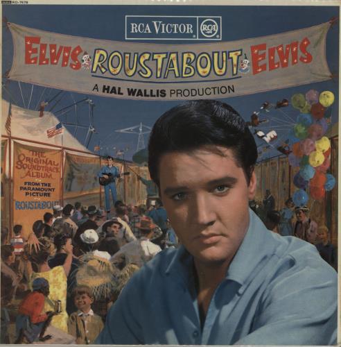 Elvis Presley Roustabout - 1st - WOC vinyl LP album (LP record) UK ELVLPRO758074