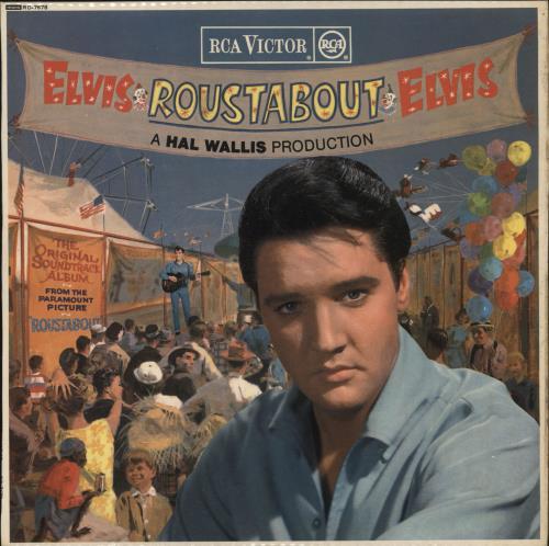 Elvis Presley Roustabout Red Spot Uk Vinyl Lp Album Lp