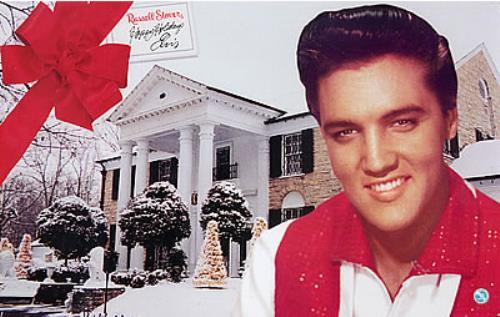 Elvis Presley Russell Stover - Happy Holiday Elvis memorabilia US ELVMMRU258020