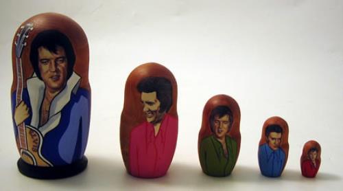 Elvis Presley Russian Doll memorabilia UK ELVMMRU386907