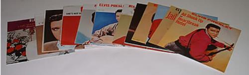"Elvis Presley Set of 7""s 7"" vinyl single (7 inch record) UK ELV07SE242058"