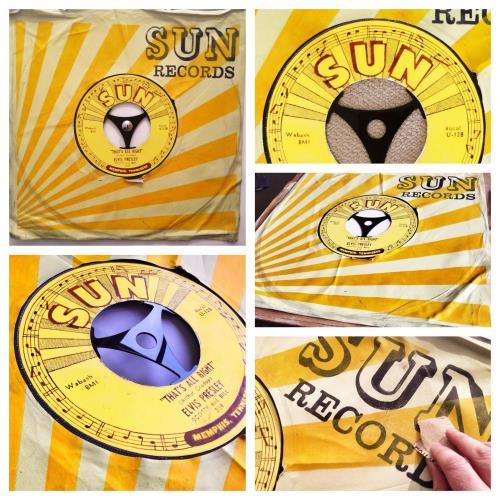 Elvis Presley That's Alright - SuperSizeArt Numbered Print artwork UK ELVARTH731116