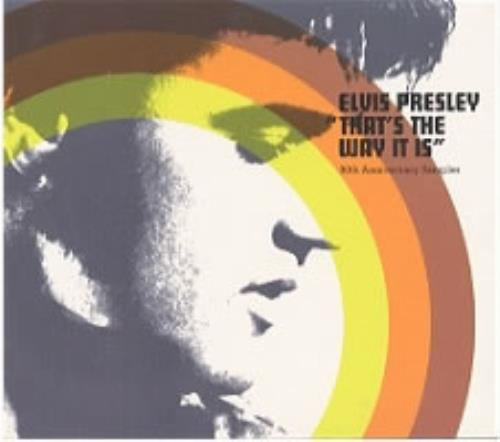 "Elvis Presley That's The Way It Is 30th Anniversary Sampler CD single (CD5 / 5"") Dutch ELVC5TH176098"