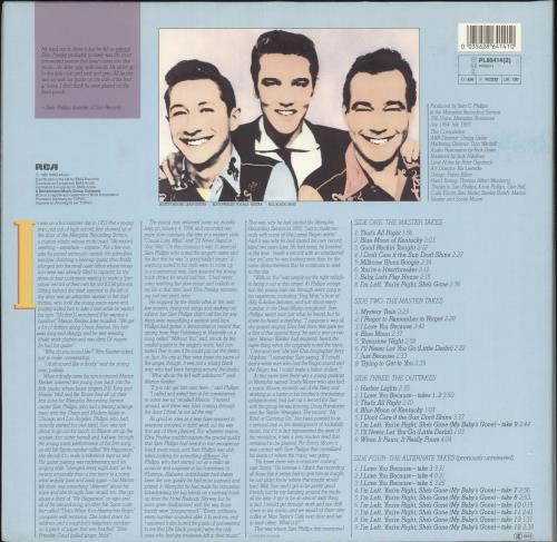 Elvis Presley The Complete Sun Sessions + Poster 2-LP vinyl record set (Double Album) German ELV2LTH730622