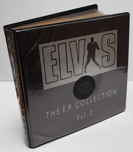 "Elvis Presley The E.P. Collection 2 - Stickered Folder 7"" box set UK ELV7XTH10039"