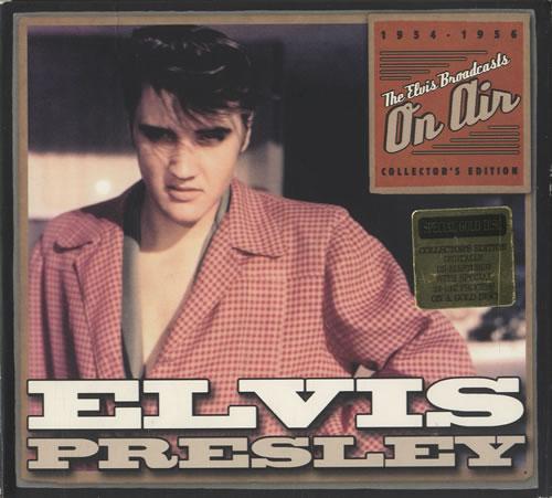 Elvis Presley The Elvis Broadcast On Air 1954-1956 CD album (CDLP) US ELVCDTH261237