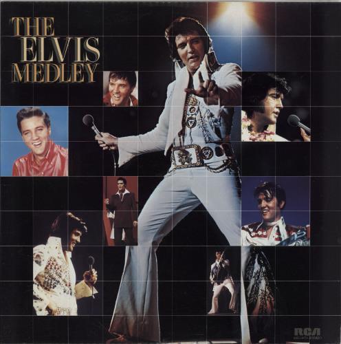 Elvis Presley The Elvis Medley vinyl LP album (LP record) Hong Kong ELVLPTH765367
