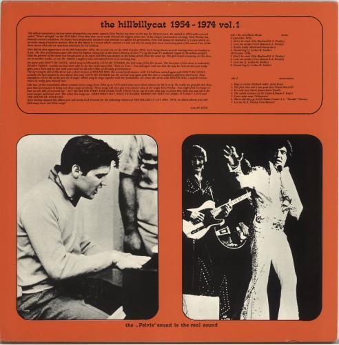 Elvis Presley The Hillbilly Cat 1954-1974 Vol. 1 vinyl LP album (LP record) UK ELVLPTH718812