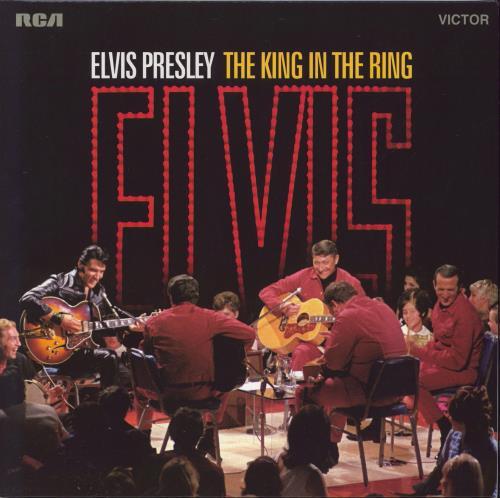 Elvis Presley The King In The Ring - Red Vinyl - Sealed 2-LP vinyl record set (Double Album) Italian ELV2LTH722966