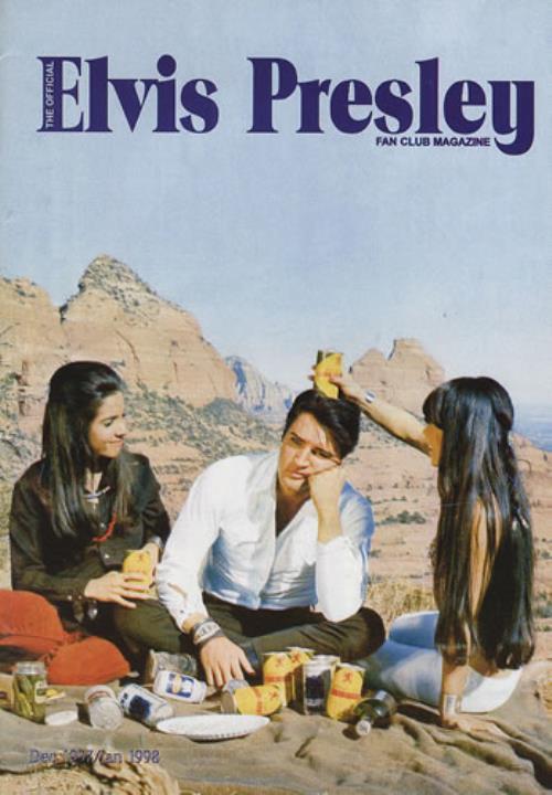 Elvis Presley The Official Elvis Presley Fan Club Magazine 1998 Uk