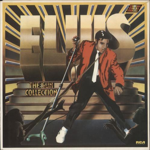 Elvis Presley The Sun Collection vinyl LP album (LP record) UK ELVLPTH230139