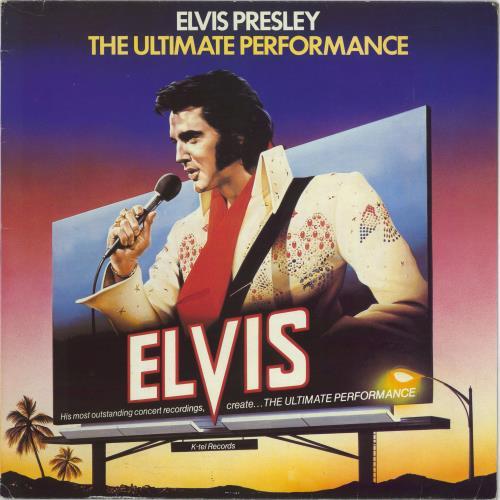 Elvis Presley The Ultimate Performance vinyl LP album (LP record) UK ELVLPTH288284