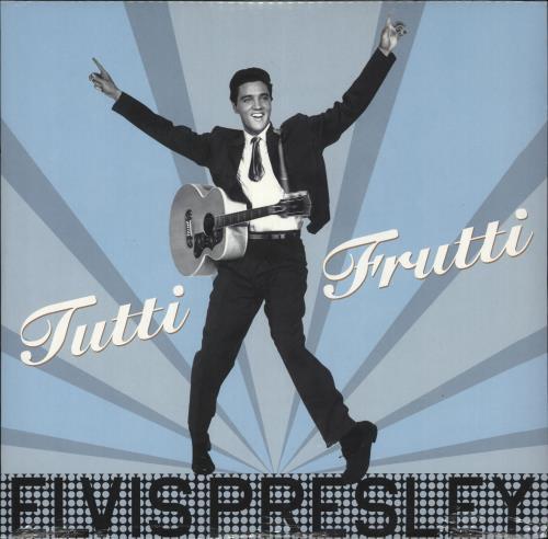 Elvis Presley Tutti Frutti - 180gram Vinyl - Sealed vinyl LP album (LP record) UK ELVLPTU729657