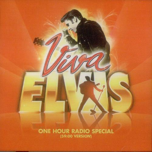 Elvis Presley Viva Elvis - One Hour Radio Special CD-R acetate US ELVCRVI549551