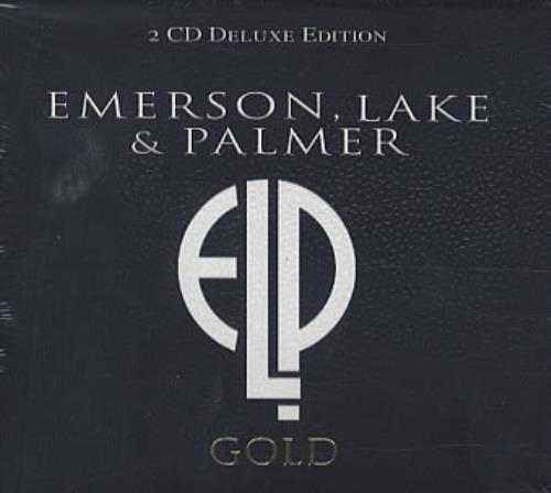 Emerson Lake & Palmer Gold 2 CD album set (Double CD) UK ELP2CGO338988