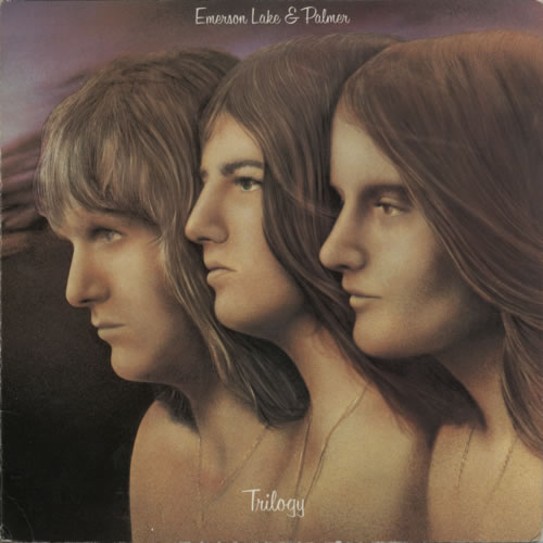 Emerson Lake & Palmer Trilogy vinyl LP album (LP record) US ELPLPTR597026