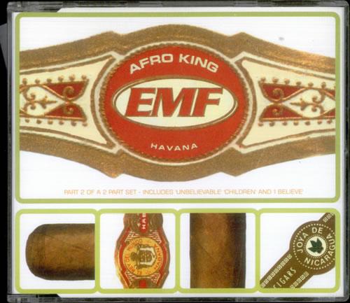 """EMF Afro King CD single (CD5 / 5"""") UK EMFC5AF242567"""