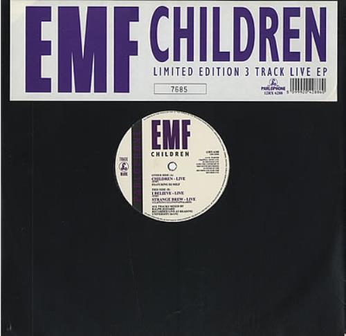 "EMF Children 12"" vinyl single (12 inch record / Maxi-single) UK EMF12CH10719"